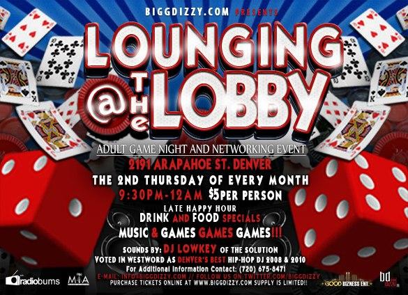 thursday 9 9 loungin at the lobby adult game night w dj low key dj low key. Black Bedroom Furniture Sets. Home Design Ideas