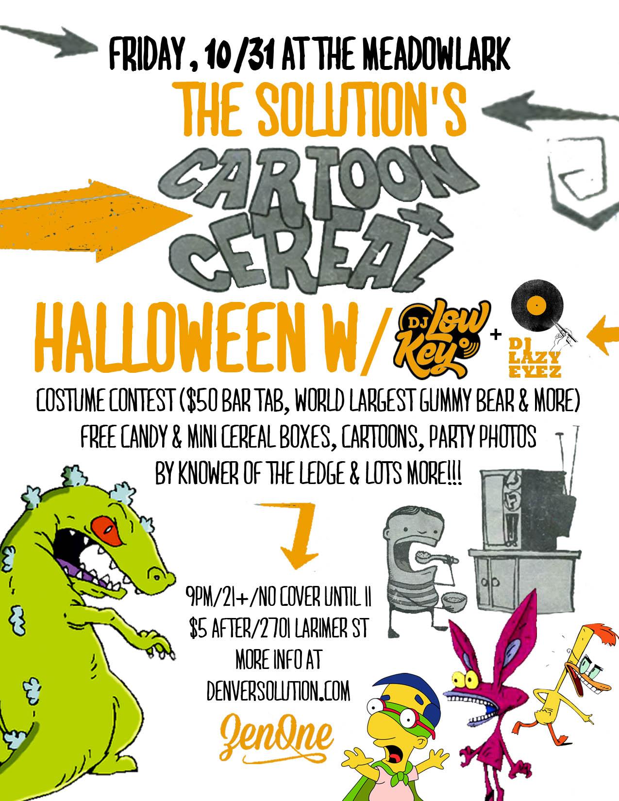 halloween contest flyer