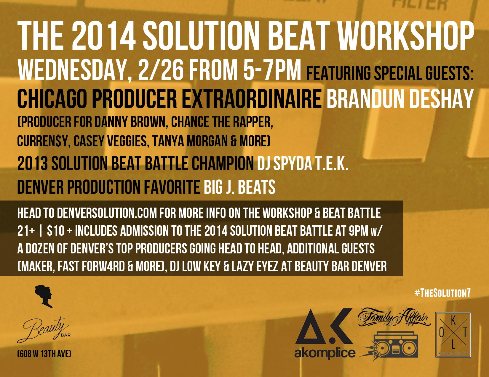 The Solution Beat Battle |  :The Solution w/DJ Low Key