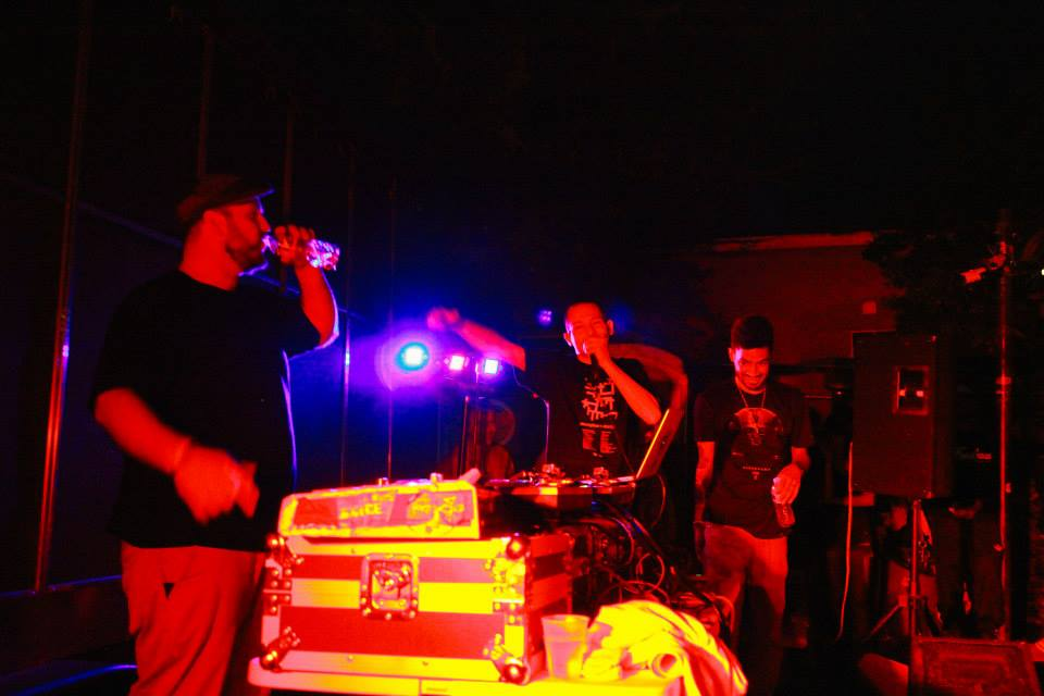 Exile_DJ_Low_Key_and_Choosey_at_The_2014_SX_Solution_Showcase