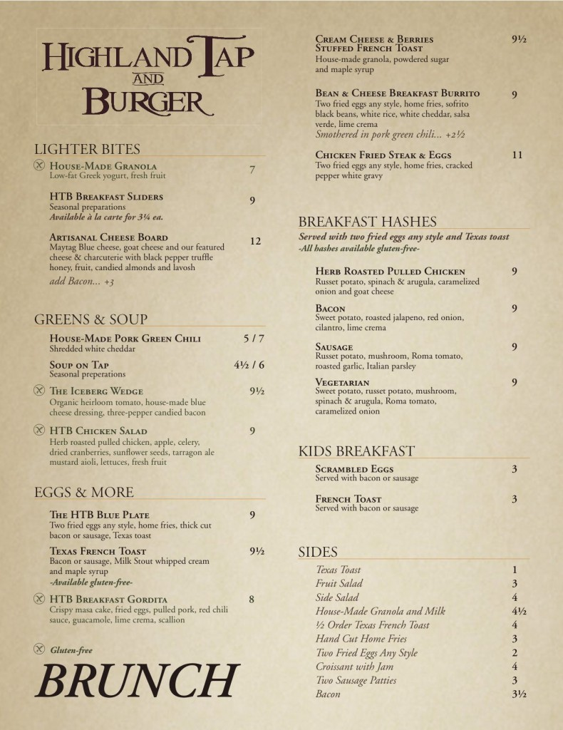 Highland_Tap_And_Burger_Brunch_Menu_Page_1